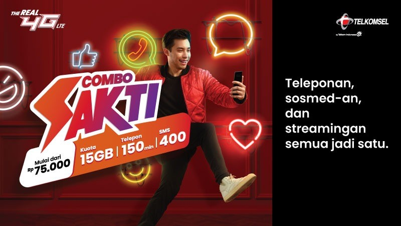 PAKET SUPER COMBO UNLIMITED 30HARI