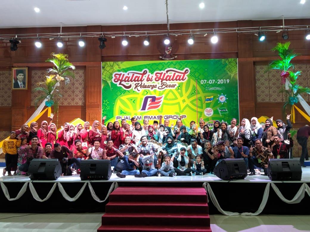 Halal bi Halal Keluarga Besar Pualam Emas Group